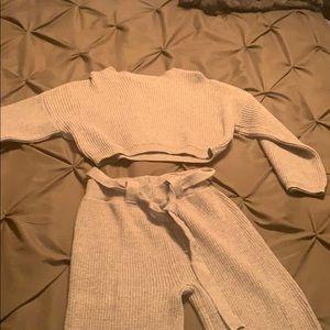 Two piece brand new sweater set